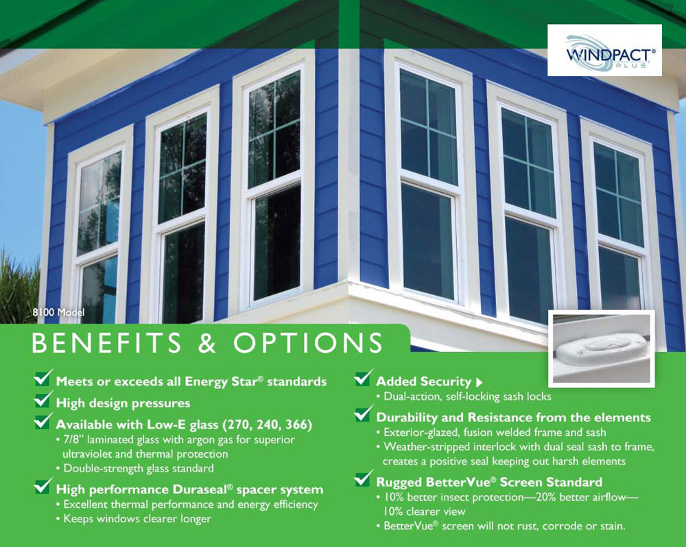 The Windpactplus Series From Custom Windowsystems Not Only Fits Better And Looks It Also Performs